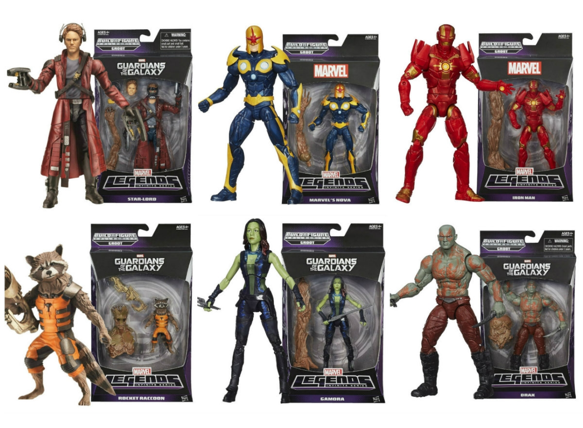 Marvel legends for Galaxy toys